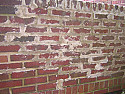 Brick repointing butcher job
