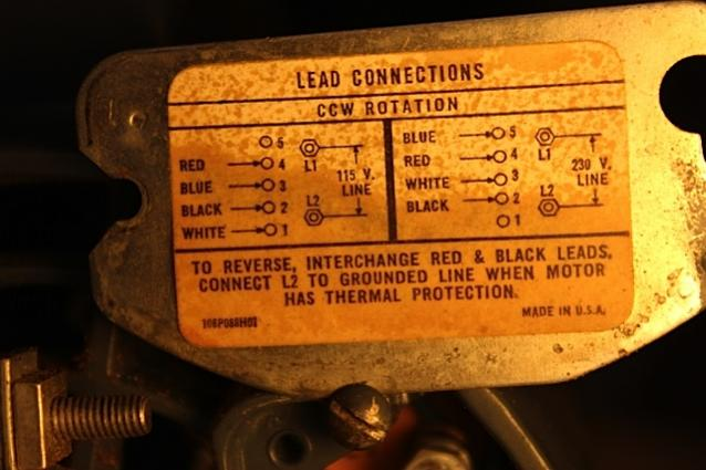 Motor Wiring Homeownershub, Ge Electric Motor Wiring Diagram