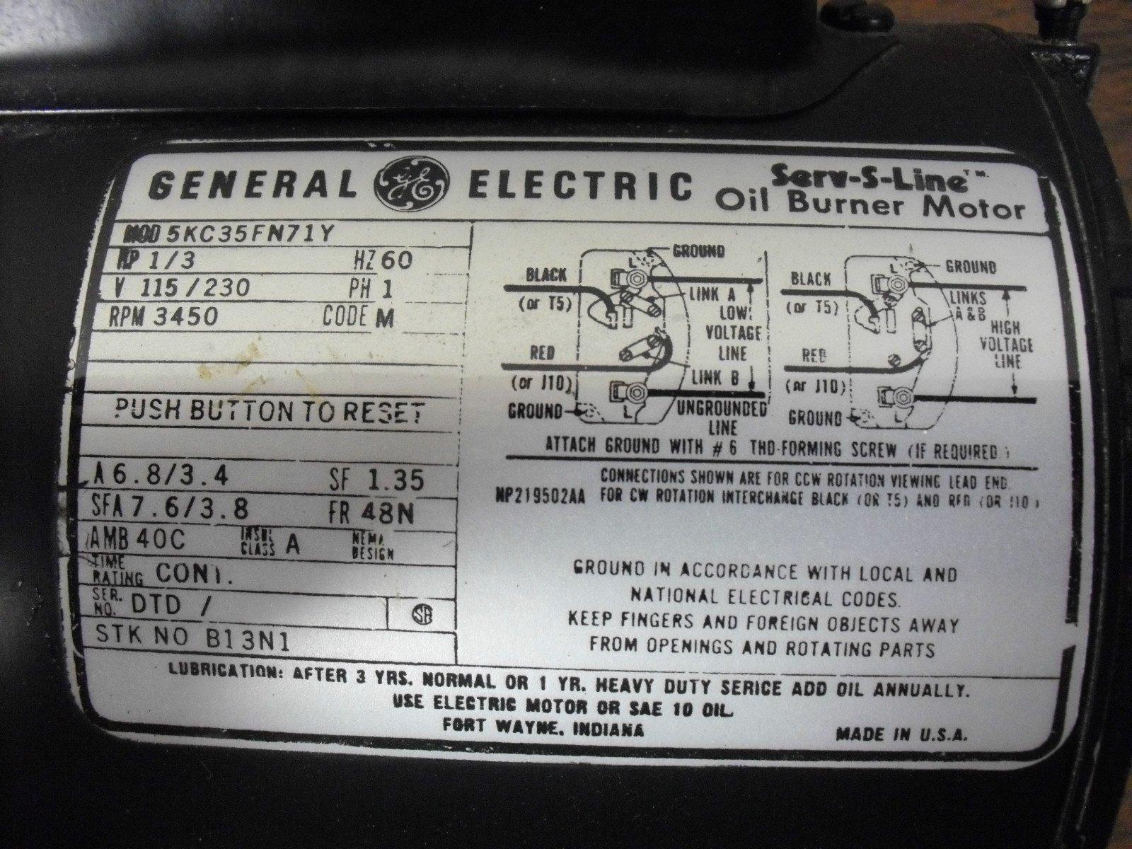 wiring diagram for ge motor 5kc35k6335 - HomeOwnersHub   Ge Motor Wiring Schematic      HomeOwnersHub